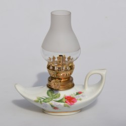 Sklenená lampička na olej 15 cm