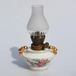 Lampička na olej Štvorlístky 16x6 cm, záruka sa nevzťahuje na funkčnosť