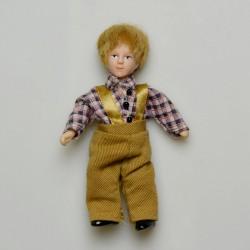 1:12 Nevesta - porcelánová bábika do domčeka pre bábiky 15,5 cm