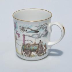 Porcelánový hrnček God Speed the Plough, Royal Worcester England 330 ml
