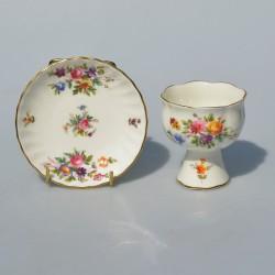 Porcelánový svietnik Kirsty Jayne 10,5 x 7 cm
