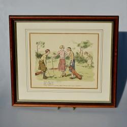 predane fb Obraz Dievčatko s listom a ružami 56,5x46 cm