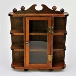 Drevená skrinka so zrkadlom 28 x 17,5 x 6,5 cm