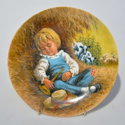 Porcelánový tanier Little Jack Horner, Reco  21,5 cm