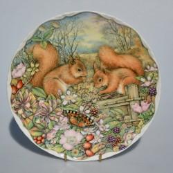 Porcelánový tanier Butterfly Garden, ROYAL ALBERT 21,5 cm