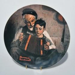 Porcelánový tanier The Gourmet, Knowles 21,5 cm + certifikát, orig.obal