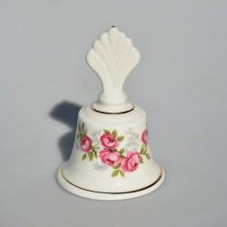 Porcelánový zvonček Ružičky KA 11x6 cm
