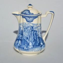 Starý čajník z kameniny - Ironstone, Wedgwood 1,3 l, minioťuk v naliev.otvore