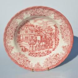 PREDANE Hlboký tanier z kameniny - Ironstone - English Scenery , Woods & Sons 22,5 cm