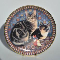 Porcelánový tanier Delabore in Spring, Danbury Mint 20,5 cm