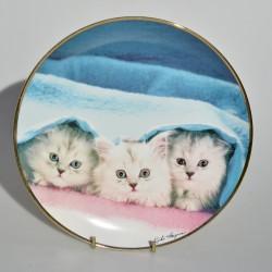 Porcelánový tanier Ladies of Leisture, Franklin Mint 21 cm