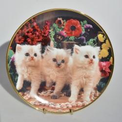 Porcelánový tanier Peek a Boo, Franklin Mint 21 cm