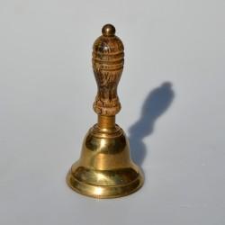 predane Mosadzný  zvonček s rúčkou, výška 18 cm