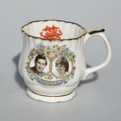 Porcelánový hrnček The Marriage of Charles and Diana, Royal Grafton 300 ml, objem 300 ml