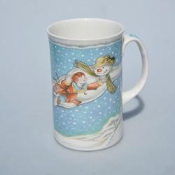 ? cena Porcelánový hrnček Snowman ROYAL DOULTON 350 ml