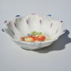 predané Veľká porcelánová misa Ruže a konvalinky 23x6 cm