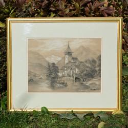 Veľký obraz - print A Special Pleader, Charles B. Barber 73,5x57 cm