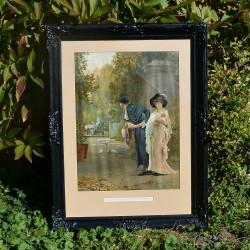Veľký obraz - print Pri jazere, R.L. Thomas 59,5x50 cm
