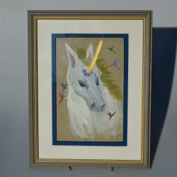 Obraz originál Plachetnica Lowestoft Smacks 32,5x27,5 cm