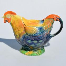 predané Starožitný porcelánový čajník, znač.2160, krakelácia- iba dekor, 28x16 cm