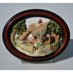 3D zberateľský obraz West Dean, Lakeland 21x16,5 cm