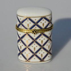 Zberateľská porcelánová šperkovnička E.P.05, Del Prado 6,5x4x2,4 cm