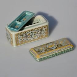 Zberateľská porcelánová šperkovnička E.P.50, Del Prado 6,5x4x4 cm