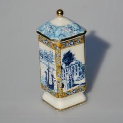 Zberateľská porcelánová šperkovnička E.P.20, Del Prado 5x3,2 cm