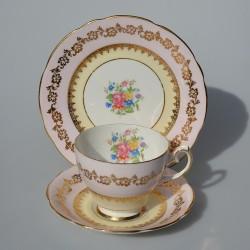 Argyle Starožitný porcelánový trojset Kvety 180 ml