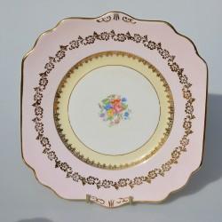 Starožitná sada porcelánová cukornička a mliekovka Kvety, Gladstone 350 ml