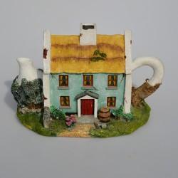 Zberateľský čajník -domček TellTale Teapot -Paddy, 13x18,5x11 cm