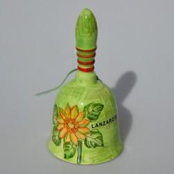 Porcelánový zvonček Ružičky Lysander 10x7 cm