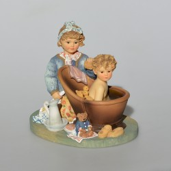 Zberateľská resinová soška Carting Companions, Leonardo 13x12x9 cm + orig.obal