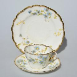 dat foto Starožitný keramický trojset Royal Jasmine, Spode´s 200 ml