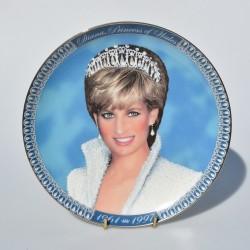 predané Porcelánový tanier Diana, A Very Special Princess, Bradford 22x16,5 cm, vpredu ošuch farby