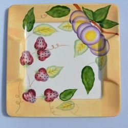 Porcelánový podnos pod tortu