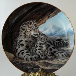 Porcelánový tanier Tigere 07