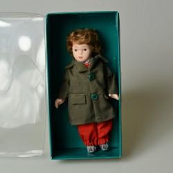 14 cm Porcelánová bábika - Záhradník v pôvodnom balení