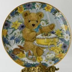 Porcelánový tanier Teddy´s Winter Wonderland